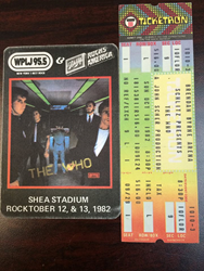 Select-A-Ticket was selling The Who tickets back in 1982