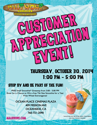 Maui Wowi welcomes the community for Customer Appreciation!