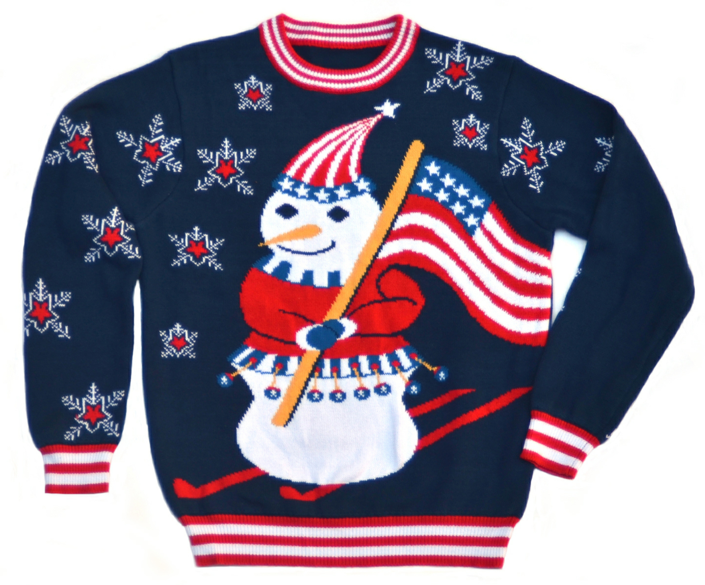 My Ugly Christmas Sweater Thanks Military Personnel by Donating ...