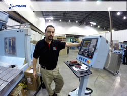 DMS CNC Routers Fagor Automation Renishaw Integration for Probing and Tooling