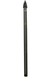 Pneumatic Telescoping Light Mast that is Extended with an Air Compressor