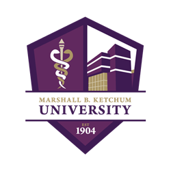 A picture of the Marshall B. Ketchum University seal.