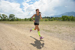 Kara Goucher will at the Zensah Booth (#1207) at the Running Event in Austin
