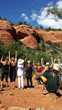 Calling in the Directions of the Medicine Wheel