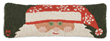 Peeking Santa Throw Pillow