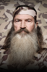 A&E's Duck Dynasty star Phil Roberston will be coming to the Blue Gate Theater in Shipshewana