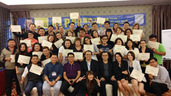 Dr Ernest with Graduates of NLP Sales Training