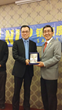 Dr Ernest Wong Received Award from Dato Loh Liam Hiang