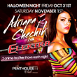 Adriana Chechik Performs Live at The Penthouse Club San Francisco Halloween Weekend