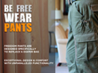 Freedom Pants, the First Pants Designed to Replace a Diaper Bag,...