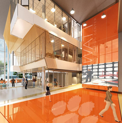 Clemson University Watt Family Innovation Center - Rendering