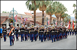 18th Annual Palm Springs Veterans Day Parade scheduled for November 11, 2014 at 3:30 PM in downtown Palm Springs