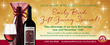 Gold Medal Wine Club now offering Early Bird Gift Giving Special for Holidays