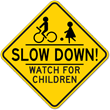 Slow Down! With School Back in Session, STOPSignsandMore.com Reminds Motorists to Abide by All School Safety Signs