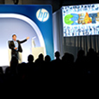 Ron Coughlin, Senior Vice President and General Manager of HP's Consumer PC and Solutions global business unit, unveils Sprout at the Sprout by HP and HP Multi Jet Fusion Launch
