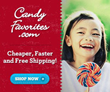 CandyFavorites.com Offers a New Expanded Christmas Wholesale Candy...