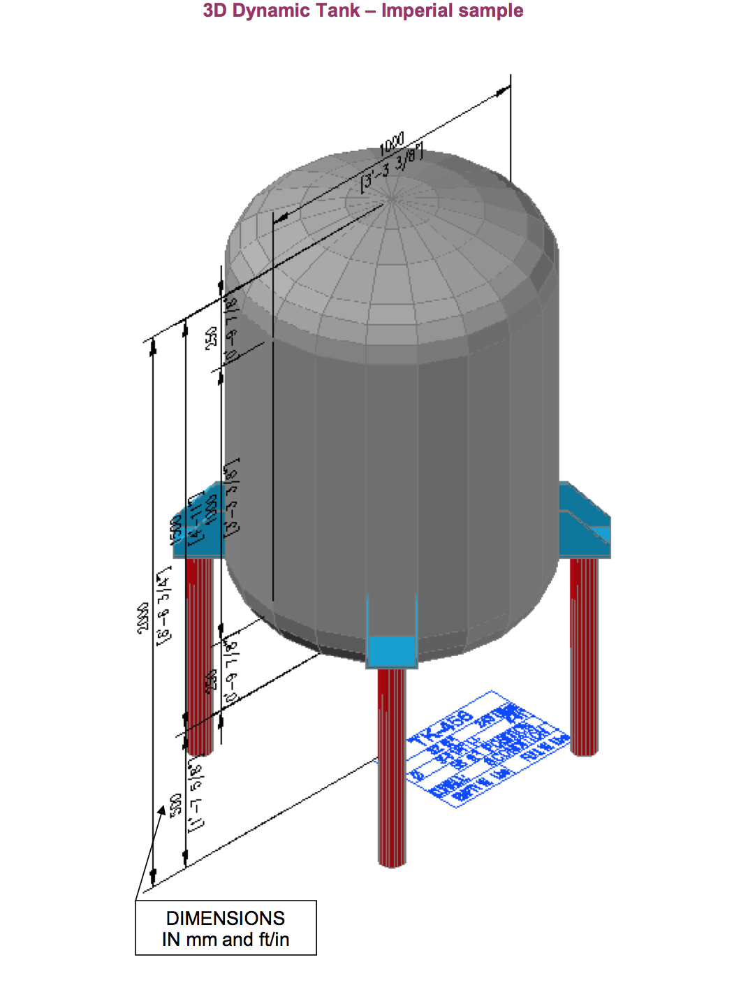 Simplecad Releases New Easy To Create Autocad 174 3d Tank