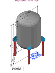 3D tank and vessel example