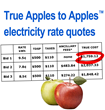 """Texzon Introduces """"True Apples to Apples™"""" Electricity Rate..."""