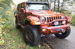 The Jeep Wrangler project was created with ideas and suggestions from enthusiasts across North America.