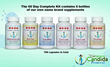 Candida Cleanse Kit is Available through New Website The Complete...