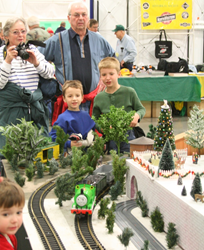 Families at Trainfest