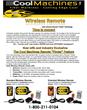 wireless insulation remote