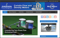 Coriolis Flow & Density Measurement Application
