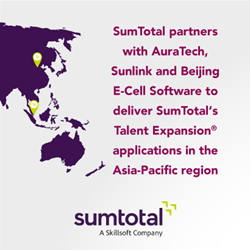 SumTotal partners with three new resellers in Asia Pacific