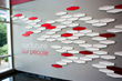 "The ""People Wall"" inside the LexisNexis software division headquarters"
