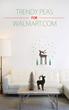 Reindeer Wall Decal by Trendy Peas