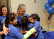 Socastee Elementary students celebrate their selection as a 2014 Blue Ribbon School