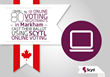 More Online Voters in Markham Cast their Ballot Using Scytl Online...