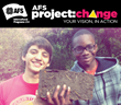 AFS-USA Kicks off the Project: Change Scholarship Contest