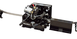 Sharpen and set blades all-in-one with the Wood-Mizer BMST50.