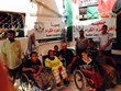 Amer Abdallah Visits Refugee Camp in Jordan