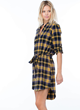 Lumberjane Flannel Tunic Dress
