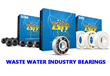Bearings For Wastewater Management, Water Treatment, and Fluid Handling