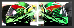AGV K5 Helmet Roadracer Graphic at Firecrest Moto