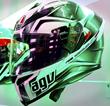 AGV K5 Helmet Hurricane Graphic at Firecrest Moto