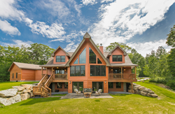 2015 Jerry Rouleau Awards Ritz-Craft's Killington Cabin