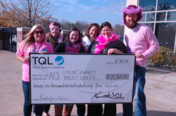 TQL Loads for a Cure raises $21,765 to fight breast cancer.