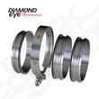 Diamond Eye Performance Quick-Connect Coupler Exhaust Clamps