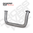 Diamond Eye Performance Crossover Pipe for 1993-200 GM 6.5L Duramax