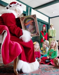 Callaway Gardens story time with Mrs. Claus