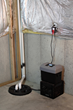 Sump Minder's powerful 12v pump handles 3,300 gallons per hour at zero feet.