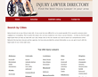 Personal Injury Attorney Directory Released at InjuryLawyerDir.com