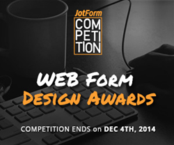 Web Form Design Awards