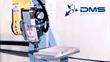 DMS 5 Axis CNC Router honeycomb composite panel machining