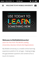 Welcome to MyMobile University